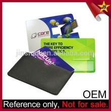 Wholesale promotional custom logo business card usb flash drive