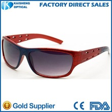 funny kids sports sunglasses with spider pattern