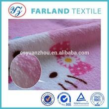 custom coralfleecefabric printing kids animal pajamas fabric