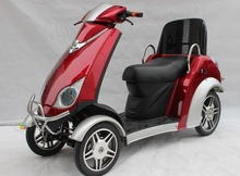4 wheels comfortable electric scooters/ motorcycle