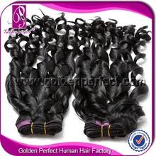 nouveau produit à double couche de trame vierge brésilienne cheveux dominicaine