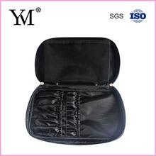 Wholesale black cosmetic bag for make up brush