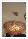 China consumer shenzhen alibaba purple/gold/silver round aluminum modern ceiling light