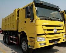 howo dump truck yellow color trucks transport sand truck china