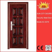 Zhejiang Yongkang iron main entrance doors grill design SC-S076