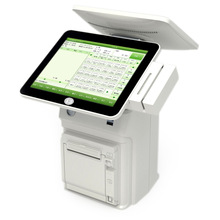 Hot touch screen all in one pos machine I3 with printer built-in