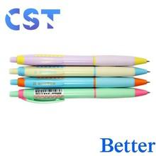 Popular Design of Curvy Promotional Plastic Ballpoint Pen