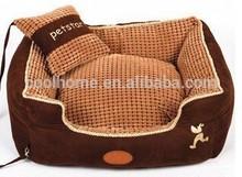 High quality wholesale fabric paw shape XXL dog bed