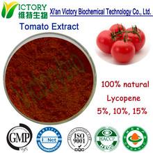 100% natural anti-oxidation tomato extract lycopene 5% 10% 15%