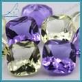 Caliente la venta de la joyería que hace materia prima vidrio tallado de las gemas