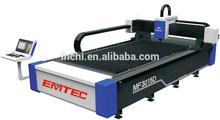 1000W Fiber laser CNC Cutting Machine Germany laser power USA lasermech cutting torch