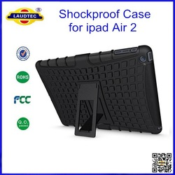 Anti-Shock Combo Case Cover Heavy Duty Shockproof Case For iPad Air 2