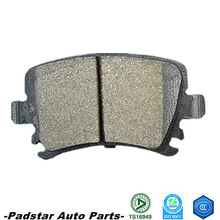 Auto spear parts ford suzuki toyota yaris verso semi-metallic brake pads used toyota dyna truck