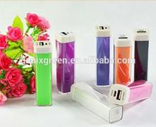 Genixgreen Emergency Lifeline External Battery Pack 2600mah Mobile Phone Portable Travel Universal Battery Charger
