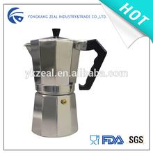 zeal aluminium espresso coffee maker CM2001 12C