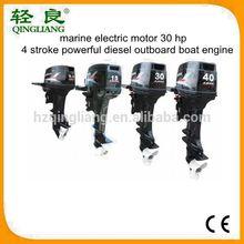 marino motore elettrico 30 cv 4 tempi potente diesel barca fuoribordo