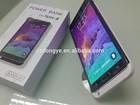 New Product!! LED lighting power case for Samsung Note 4 5000mAh power bank case for Samsung Note 4