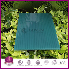 Five Walls Green Polycarbonate Sunshade Roof Sheet For Skylight Solar Control Grade A Cheap Price Wholesale 12mm
