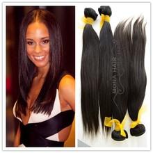 Wholesale Peruvian/Indian/Malaysian/Brazilian human hair extension brazilian bundle straight