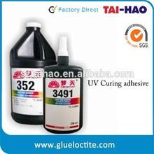 Mengtian 352 Super bonding metal glass UV glue for transparent crystal adhesive