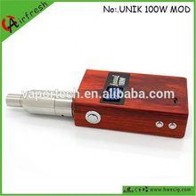 God mod Unik wood watt mod Alibaba express uk personal vaporizer pen 180w god mod