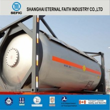 Newly 20ft,40ft ISO liquid oxygen transport tank container