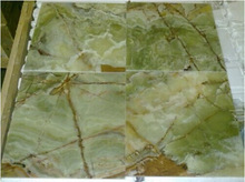 Dark Green Onyx Floor Wall Tiles