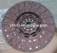 high quality clutch disc DZ1560160011 for shacman f2000 f3000 truck