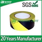 (warning tape)balck yellow eye-catching caution warning floor marking tape