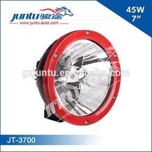 "7"" 45W 4500LM Red Ring 9-32V COB LED Driving Light JT-3700"