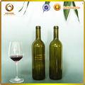 750 ml vazio limpar garrafas de vinho / vinho bordeaux garrafa de dimensões
