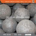 resistente de molienda bolas de acero forjado para mineral de zinc