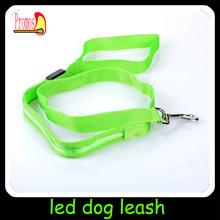 retractable dog leash with led light custom led dog leashes