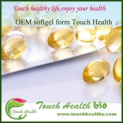 Remove free radical anti-aging beauty skin care vitamin e softgel capsules