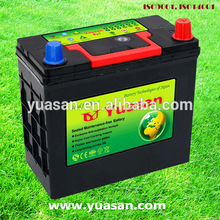 YUASAN Factory Newest Lead Calcium Automotive Battery Maintanence Free MF 46B24L S Car Battery 12V45AH