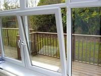 aluminum tilt &turn windows with double glass