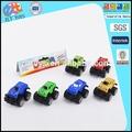 Puxar para trás suv, plástico barato carro de brinquedo, 6 pcs pequenos brinquedos de plástico puxar para trás do carro