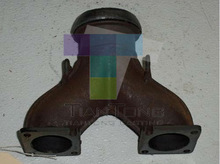 Ductile Iron / SG Iron / Grey Iron Manifold Exhaust Sand Cast Grey Iron Auto Pipe