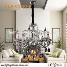 mid-century style elegant dinning room artistic suspended lamp