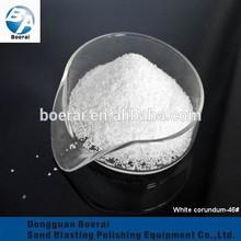 manufacturer abrasive white aluminum oxide for cup sandblasting