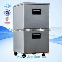 grey color metal salon storage cabinets