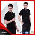2014 melhor vender mais recente alta qualidade baratos unissex elegante uniforme chef uniforme esperar pessoal