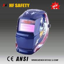 Best selling auto-darkening welding mask for brass welding electrode