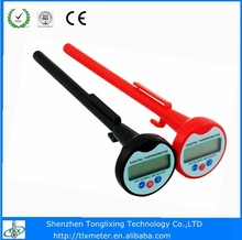 Meat/kitchen/household digital stainless steel probe thermometer