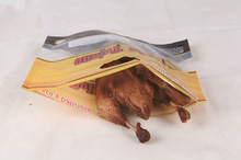 Hot Chicken & Hot Fried Food Microwavable Stand Up Pouch with Zip Resealable Closure