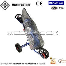 Universal Transparent Golf Bag Cover Trolley Cart Bag Zip Up Rain Cover Protector