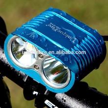 rechargeable battery pack power supply 1800 lumen high brightness bike led light