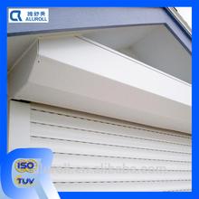 European Manual and Motorized Interior Vertical Aluminum Roller Shutter Door and Windows