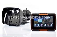 Waterproof IPX7 motorcycle gps navigator / gps navigation system world map