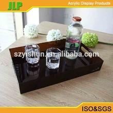 JLP acrylic hotel amenities tray, acrylic tray